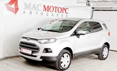 Ford EcoSport Серебряный металлик